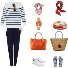 A fashion look from September 2015 by claire-marie-lepercq featuring HANIA by Anya Cole, adidas Originals, Armani Exchange, Caffé, Valentino et Casetify
