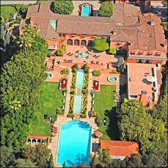 Most expensive home in US - former home of newspaper tycoon William Randolph Hearst.  Got $165,000,000?