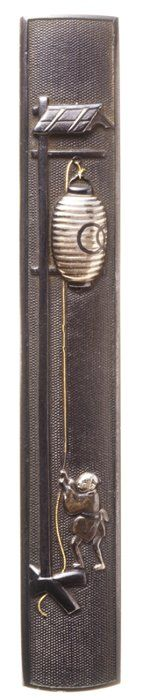 鐔鑑賞記 Japanese Kozuka (small sword case), Edo era (1603-1868)