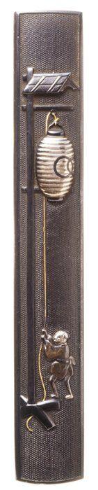 Japanese Kozuka (small sword case) , Edo era (1603~1868)