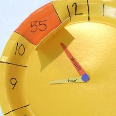 Make a Paper Clock {Learning to Tell Time}