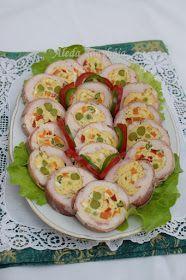 Aleda konyhája: Zöldséges csirkemelltekercs