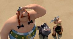 #Asterix and #Obelix are back on big screen in Asterix: Le Domaine des Dieux and it's going to be really funny. Animation by #MikrosImage: http://www.artofvfx.com/?p=9608