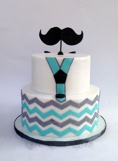Little man moustache theme cake cakes