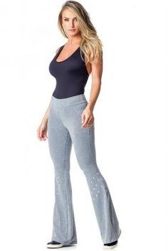 d3ca1d6d2f151 Calça Bailarina Love Song - Vestem BAI35 Dani Banani Fashion Fitness Calça  Bailarina