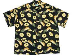 ジューシーなパイナップル柄アロハシャツ - アロハシャツ着る蔵のブログ