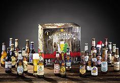 KALEA Bier Adventskalender mit 24 Bieren und 1 exklusivem Verkostungsglas (Edition deutsche Bierspezialitäten): Amazon.de: Bier, Wein & Spirituosen