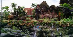 Policía ambiental y ecológica, mostrando la esencia de su servicio en el desfile del #20DeJulio