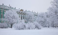 The Winter Palace from 1732 to 1917 was the official residence of the Russian monarchs.