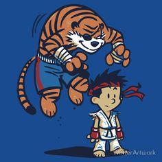 Witty Street Fighter Fanarts