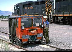 RailPictures.Net Photo: DRGW MW3049 Denver & Rio Grande Western Railroad Fairmont Speeder at Genola, Utah by James Belmont