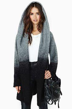 BB Dakota Slow Fade Hooded Coat