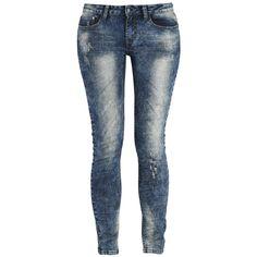 Eine tolle Jeans für jeden Tag, mit Echt cooler Waschung: Megan von Rock Rebel by EMP