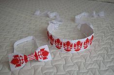 matulik81 / `klasy` motylik Cross Stitch Flowers, Crochet Earrings, Baby Shoes, Handmade, Ties, Hair Bows, Punto De Cruz, Bangle Bracelets, Dots
