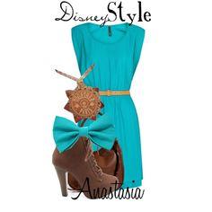 """Disney Style : Anastasia"" by missm26 on Polyvore"
