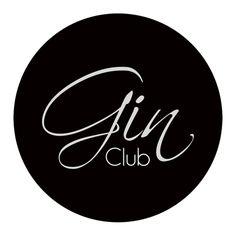 """""""Gin Club - Lisboa, Portugal"""" Logo"""
