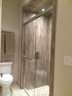 Cool Bathroom With Ceramic Tile That Looks Like Wood: Cool Modern Bathroom  Design Ideas With Cool Shower Area Design Ideas And Glass Door Ideas Also  Ceramic ...