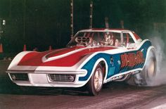 The INVADER Corvette Funny Car