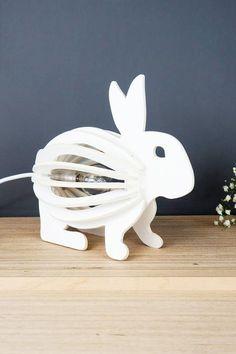 'Zooo' Table Lamp - Rabbit