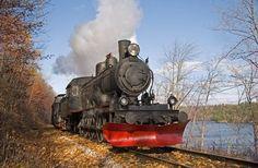 Tschechische Republik - Eisenbahnmuseum in Lužná