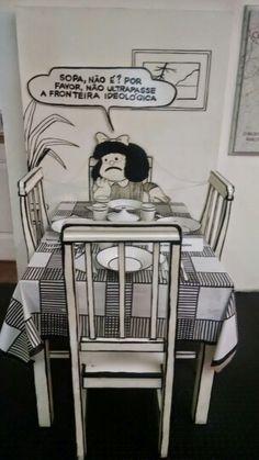 Mafalda. Sopa.