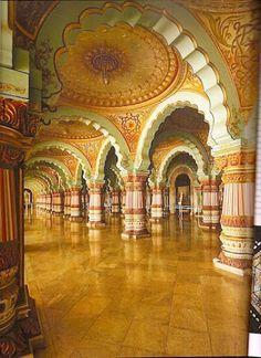 Maharajas Royal Mysore Palace in India.Royal Mysore Palace in India. Indian Architecture, Ancient Architecture, Beautiful Architecture, Beautiful Buildings, Roman Architecture, Architecture Portfolio, Modern Buildings, Mysore Palace, India Palace