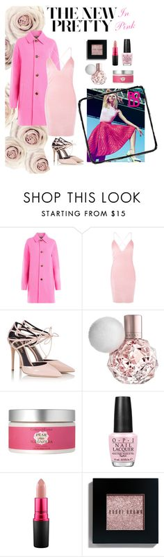 """""""Pretty In Pink"""" by rhiannonjadebrown ❤ liked on Polyvore featuring Just Cavalli, Boohoo, Fratelli Karida, Crabtree & Evelyn, OPI, MAC Cosmetics and Bobbi Brown Cosmetics"""