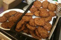 Gluten free rice and quinoa cookies