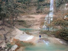 Cadapdapan Rice Terraces, Can-Umantad Falls, and Canawa Spring: A Travel Guide to Candijay, Bohol | Freedom Wall Bus Travel, Travel Tours, Time Travel, Travel Guide, Freedom Wall, Cave Pool, Spring One, Beach Properties, Rice Terraces