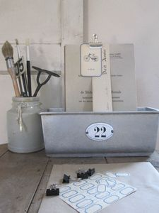 antique home... lovely organization... perfect for an office or craft space