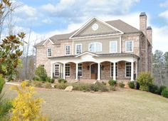 Roswell luxury new construction foreclosures in gated community, 5 bedrooms and 4.5 baths.