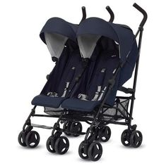 Twin Stroller Twin Swift Marina Inglesina for sale online Twin Strollers, Swift, Sports, Collections, Beautiful, Products, Navy Blue, Walks, Chairs