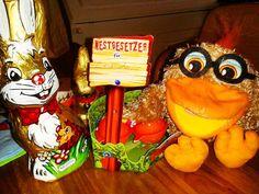 Schöne verregnete Ostern waren das in diesem Jahr. Aber Schokolade und Ostereier gab es ja trotzdem. Das ist die Hauptsache.