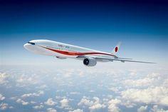 平成31年度から運行予定の新たな政府専用機の外装デザインを決定した (内閣官房提供)