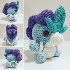 Suicune häkeln / crochet by cute_plushies_crochet
