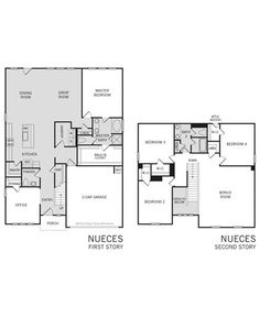 nueces floor plan - Energy Independent Home Plans