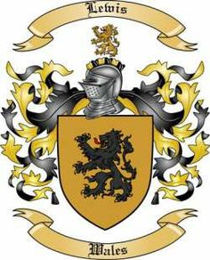 Lewis Family Coat of Arms from Wales2