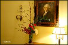 Funeral Flower Arrangements, Memorial Flowers, Sympathy Gifts, Fuji, Floral Design, Painting, Art, Art Background, Floral Patterns