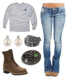 """""""Why Is It That I Don't Like The Guys That Like Me, And The Guy I Like Doesn't Like Me :("""" by im-a-jeans-and-boots-kinda-girl on Polyvore featuring Wet Seal, Carolina, Forzieri and John Deere"""