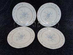 Noritake Carolyn 2693 Dessert Bread Plate - FOUR MINT! in Pottery & Glass, Pottery & China, China & Dinnerware | eBay