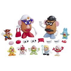 Mr Potato Head Disney/Pixar Toy Story 4 Andy's Playroom Potato Pack Toy for Kids Ages 2 & Up Mr Potato Head, Potato Heads, Buy Toys, Toys Shop, Disney Toys, Disney Pixar, Toy Story Movie, Tony Stark, Doll Toys