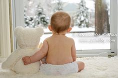 Best diy baby photo shoot at home 6 months 66 ideas Winter Baby Pictures, Winter Family Photos, Baby Boy Pictures, Baby Photos, Boy Photo Shoot, Foto Shoot, 6 Month Baby Picture Ideas Boy, Six Month Baby, Baby Boy Photography