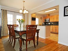 Dining Room Renovation With Split Level