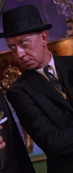 Batman ,The Dead Ringers  , Episode aired 27 October 1966 Season 2 | Episode 16, James Millhollin. Alfred Slye