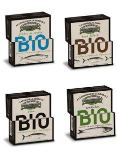 Consciente da realidade, La Gôndola desenvolveu a linha BIO...naturalmente sustentável.  Embalagem de 120g  Pack 8 unidades: . Sardinhas em Azeite Biológico - 2unid. . Atum em Azeite Biológico - 2unid. . Filetes de Cavala em Azeite Biológico - 2 unid. . Filetes de Atum em Azeite Biológico - 2unid.