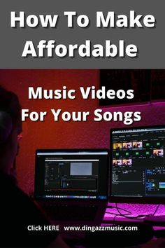 Video creation is now a vital part of music promotion. But If you don't have the time to create and edit a video, there are affordable ways to create quality music videos that don't bust the budget. #musicvideo #howtocreatevideos #creatingmusicvideos
