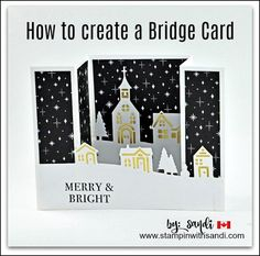 Today's video walks you step by step through how to create a bridge card with the Stampin Up Hearts Come Home Bundle available September 1st in the Stampin Up Holiday Catalogue