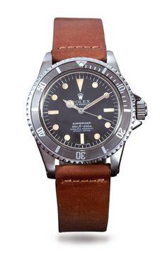 Rolex, Submariner chronomètre, ref 5512/5513, 1962