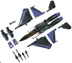 Buy Transformers Skywarp - G1 - Decepticon Jets Action Figures