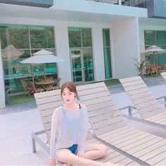 Embedded Korean Actresses, Sun Lounger, Beach Mat, Outdoor Blanket, Beautiful Women, Actors, Fairy Tail, Outdoor Decor, Model